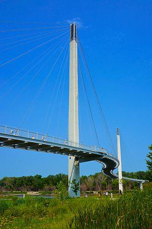 The Bob Kerrey Pedestrian Bridge