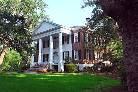 Historic Grove Plantation, known officially as the Call/Collins House at The Grove. Territorial Governor Richard Keith Call built this antebellum plantation house around 1840. The Call-Collins House, The Grove- Tallahassee, Florida (7157983334).jpg