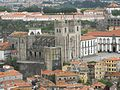 The Cathedral in Porto as seen from Tower of Clerics - panoramio.jpg