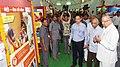 "The Chief Minister of Chhattisgarh, Dr. Raman Singh visiting after inaugurating the ""Saath Hai Vishwaas Hai, Ho Raha Vikas Hai"" Exhibition of DAVP, in Raipur.jpg"