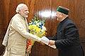 The Chief Minister of Himachal Pradesh, Shri Virbhadra Singh calling on the Prime Minister, Shri Narendra Modi, in New Delhi on December 10, 2015.jpg