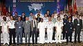 The Defence Minister, Shri A. K. Antony with the Chiefs of Coast Guard of all the eighteen Asian Nations, at the 8th Heads of Asian Coast Guards Agencies Meeting (HACGAM) in New Delhi on October 03, 2012.jpg
