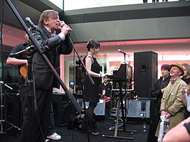 The Fall live in 2008.