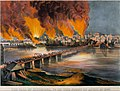 The Fall of Richmond, Virginia on the Night of April 2nd, 1865 MET DT9288.jpg
