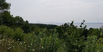 The Headlands - View from the coast
