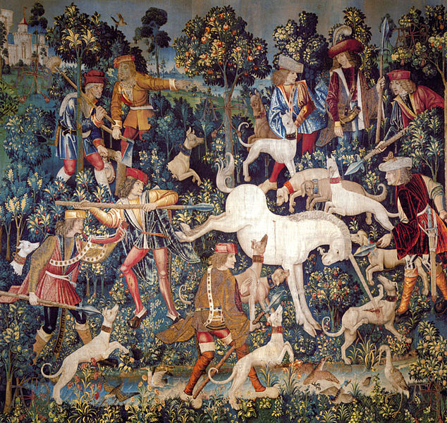 ファイル:The Hunt of the Unicorn Tapestry 5.jpg