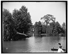 Lake Frances in the 1900s