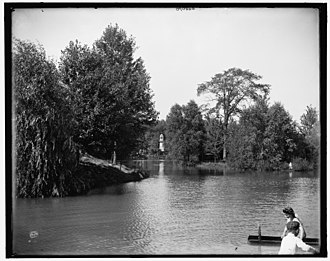 Palmer Park (Detroit) - Lake Frances, taken between 1900 and 1910