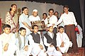 The Minister of State for Personnel, Public Grievances & Pension and Parliamentary Affairs Shri Suresh Pachouri with the winners of the 7th National Youth Parliament Competition, 2003-04 in New Delhi on September 20, 2004.jpg