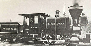 Northern Pacific Railway - The Minnetonka.