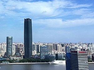 Hongkou District - The View of The North Bund, HongKou, Shanghai