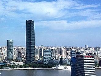Hongkou District - The View of The North Bund, HongKou, Shanghai