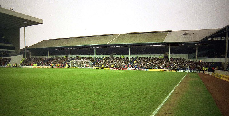 File:The Park Lane Stand at Tottenham Hotspur in 1991 - geograph.org.uk - 2839297.jpg