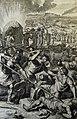 The Phillip Medhurst Picture Torah 589. Balaam slain. Numbers cap 31 vv 6-9. Hoet.jpg