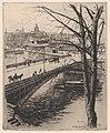 The Pont Saint-Louis, Paris MET DP874182.jpg