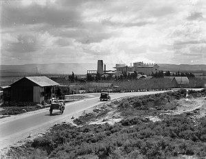 Nesher - Nesher Cement factory, 1924
