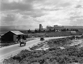 Nesher - Nesher Cement factory, 1924