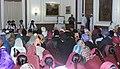 The President, Smt. Pratibha Devisingh Patil attending a Gurbani recital function, on the occasion of Guru Nanak Jayanti, in New Delhi on November 24, 2007.jpg