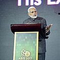 The Prime Minister, Shri Narendra Modi addressing at the ASEAN Business and Investment Summit (ABIS) 2017, in Manila, Philippines on November 13, 2017.jpg