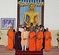 The Prime Minister, Shri Narendra Modi at the Mahabodhi Society, in Colombo, Sri Lanka on March 13, 2015.jpg