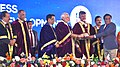 The Prime Minister, Shri Narendra Modi giving away the awards to scientists at the 104th Session of the Indian Science Congress, at Tirupati, Andhra Pradesh (4).jpg