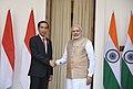 The Prime Minister, Shri Narendra Modi with the President of Indonesia, Mr. Joko Widodo, at Hyderabad House, in New Delhi on December 12, 2016 (4).jpg