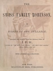 Lucy Aikin: The Swiss Family Robinson