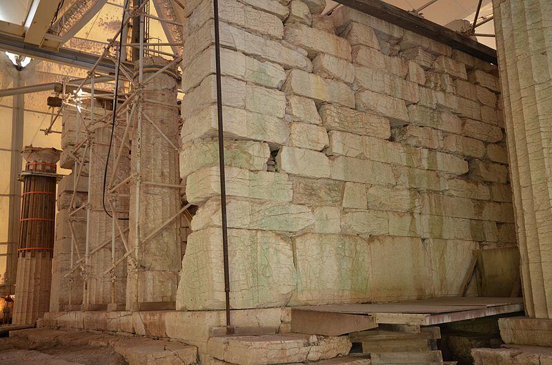 File:The Temple of Apollo Epikourios at Bassae, Proanos, Arcadia, Greece (14096118517).jpg