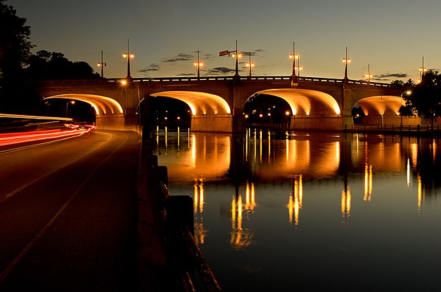 3rd place: The Rideau Canal at sunset in Ottawa Ontario, by Gregvgregv