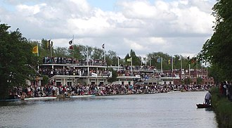 Brasenose College Boat Club - Image: The boathouses, Oxford 2