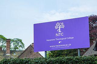 Nazarene Theological College (England) grade II listed theological college in Manchester, United kingdom