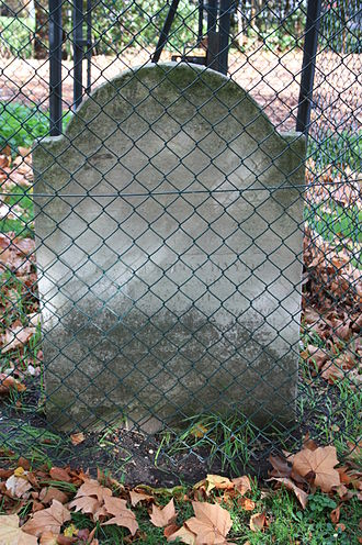 Benjamin Haydon - The grave of Benjamin Haydon, St Mary's Cemetery, Paddington