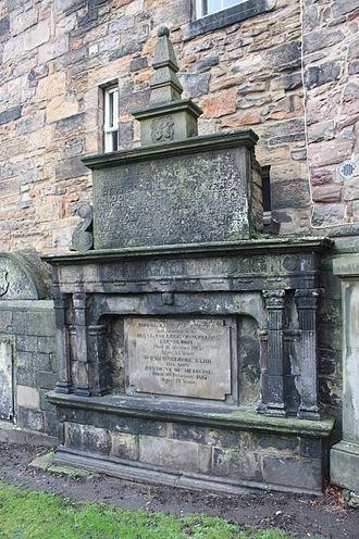 Robert Kerr (writer) - The grave of Robert Kerr, Greyfriars Kirkyard