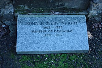 Ronnie Selby Wright - The grave of Ronald Selby Wright, Canongate Kirkyard