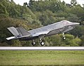 The latest F-35B arrives at NAS Patuxent River. (8076843640).jpg