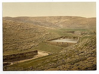 Solomon's Pools - Solomon's pools, between 1890 and 1905