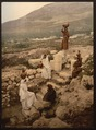 The well of the samaritan (Shechem), Napulus, Holy Land, (i.e., Nablus, West Bank)-LCCN2001699270.tif