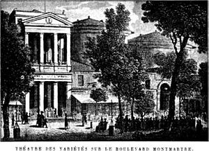 Le docteur Ox -  The Théâtre des Variétés ( c. 1820)