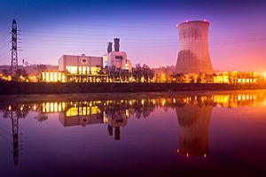 EDF Luminus - Thermal plant in Seraing
