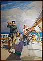 They Took Their Wives with Them on Their Cruises, by N.C. Wyeth, c. 1938, oil on board - Peabody Essex Museum - DSC07043.jpg