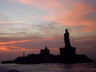 Kanyakumari - Image: Thiruvalluvar Statue ,