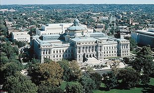 Il Palazzo Thomas Jefferson sede della Library of Congress