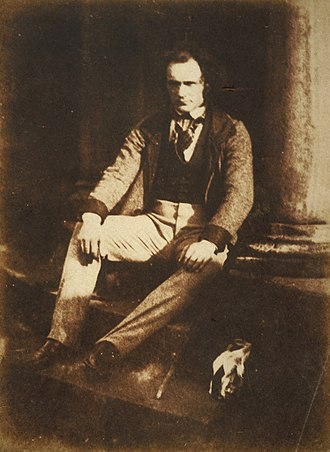 Thomas Duncan (painter) - Thomas Duncan, by Hill & Adamson, about 1844; medium: calotype print, size: 19.60 x 14.50 cm; from the collection of the National Galleries of Scotland