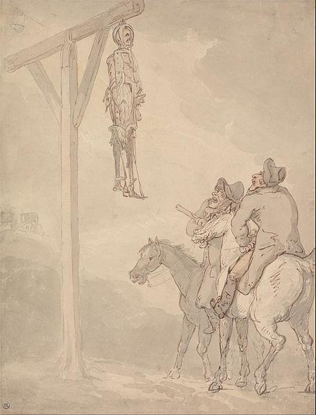 File:Thomas Rowlandson - A Gibbet - Google Art Project.jpg