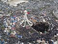Thousands of protesters gathering in Pearl roundabout 2 days before crackdown.jpg
