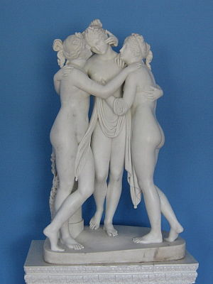 The Three Graces (sculpture) - The Three Graces: the Duke of Bedford's version