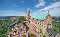 Thuringia Eisenach asv2020-07 img03 view from Wartburg South Tower.jpg