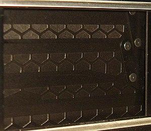 Nikon FA - The FA's honeycomb titanium shutter