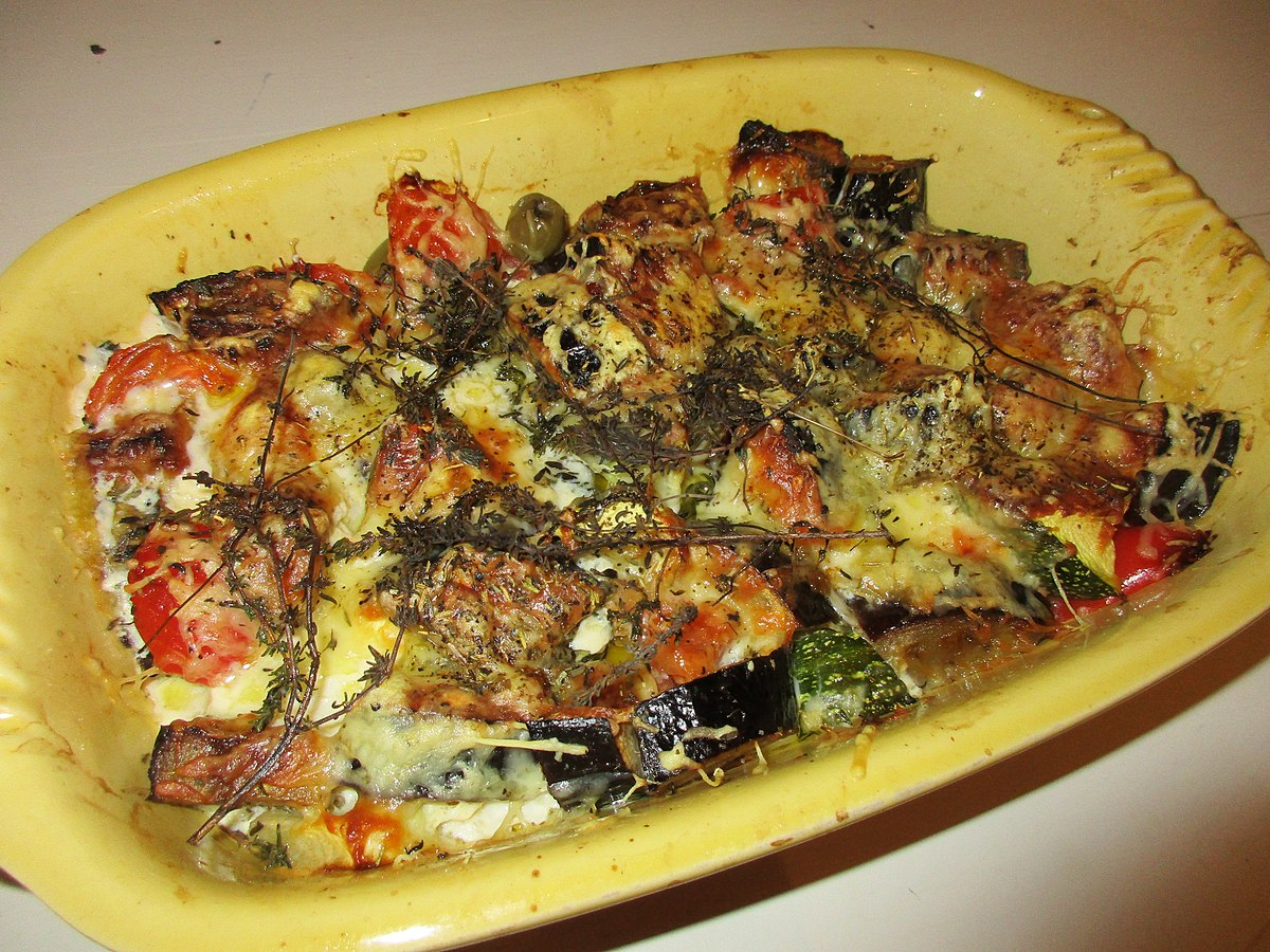 gratin d aubergine