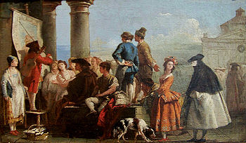 Tiepolo, Giovanni Domenico - The Storyteller -...